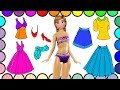 Fun Disney Princess Dress Up, Coloring Pages #20 | How to Draw and Color Anna | Video for Kids