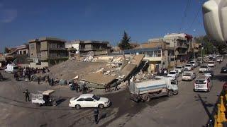 Powerful earthquake strikes Iran-Iraq border