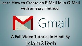 het maken van E-mail ( G-Mail ) id in het hindi / e-Mail-Id Kaise Banaat Hain