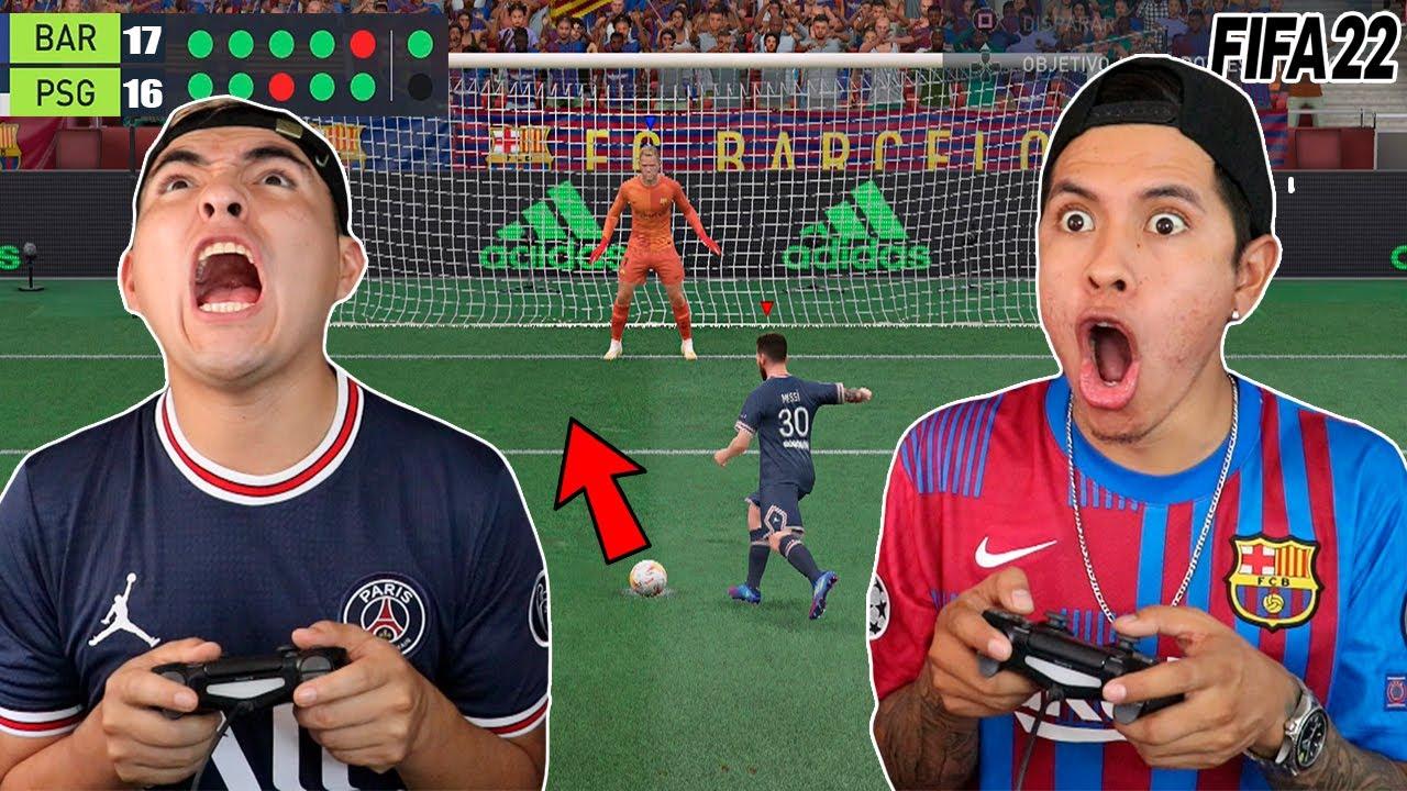 Download LA TANDA DE PENALTIS MAS LARGA de FIFA 22 😱 *Nos ENOJAMOS MUCHO*