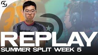 REPLAY: SK vs OG and FNC | SK LEC WEEK 5
