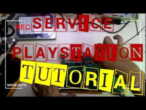 PS2 TIDAK TAMPIL GAMBAR /CARA SERVIC SIMAK VIDEO NYA////