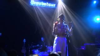 Yuna - Falling - Live - The Troubadour - Hollywood - 5/8/14