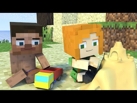 Best Love Story | Bad Boy| Minecraft Animation Life Of Steve & Alex