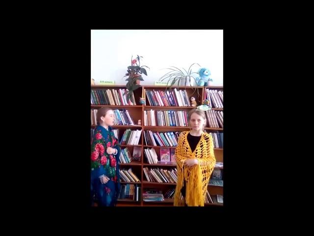 Изображение предпросмотра прочтения – «Учащиеся 4 класса» читают произведение «Дома ль кум воробей?» (Русский фольклор )