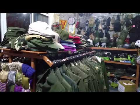 Cận Cảnh: Shop Đồ Lính - Phương ArmyA