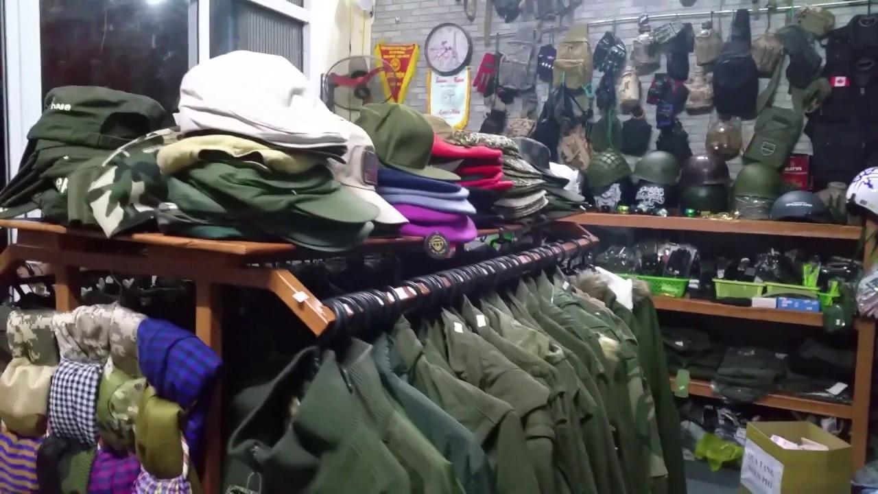 Cận cảnh: Shop Đồ Lính – Phương ArmyA