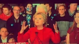 بالفيديو.. شاب يرقص خلف 'هيلاري كلينتون' يكسب شعبية كبيرة