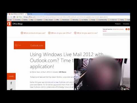 Changes to Windows Live Mail 2012 - Outlook.com emails no longer supported 30th June