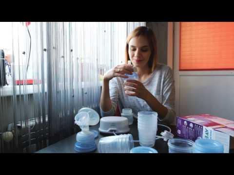 Avent контейнеры для молока