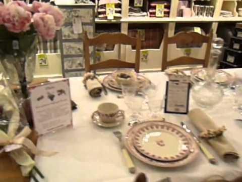 Boutique comptoir de famille clermont youtube for Comptoir de famille decoration