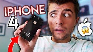 24 HORAS con el IPHONE 4!!! 📱¡¿FUNCIONA?! - @ibngarcia