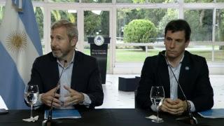 Declaraciones a la prensa del ministro Rogelio Frigerio y el secretario Iván Kerr