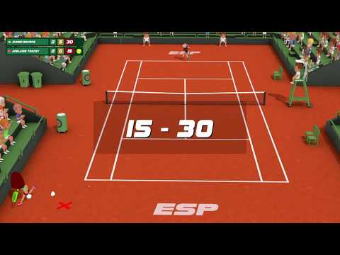 Super Tennis Blast PS4 Gameplay