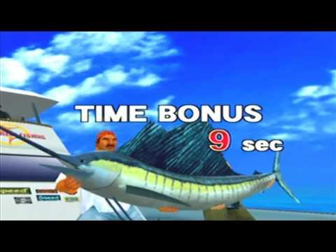 Sega Marine Fishing Game Sample - Dreamcast