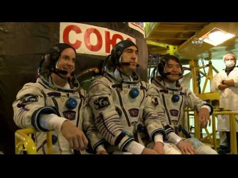 ISS Expedition 48/49 Prelaunch Activities at the Baikonur Cosmodrome in Kazakhstan