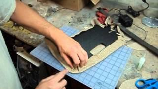 Upholstering Visors - VW Karmann Ghia