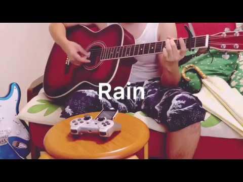【タンクトップで】Rain/大江千里・秦基博【歌って弾いてみた】言の葉の庭