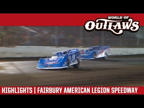 World of Outlaws Craftsman Late Models Fairbury American Legion Speedway July 28, 2018 | HIGHLIGHTS