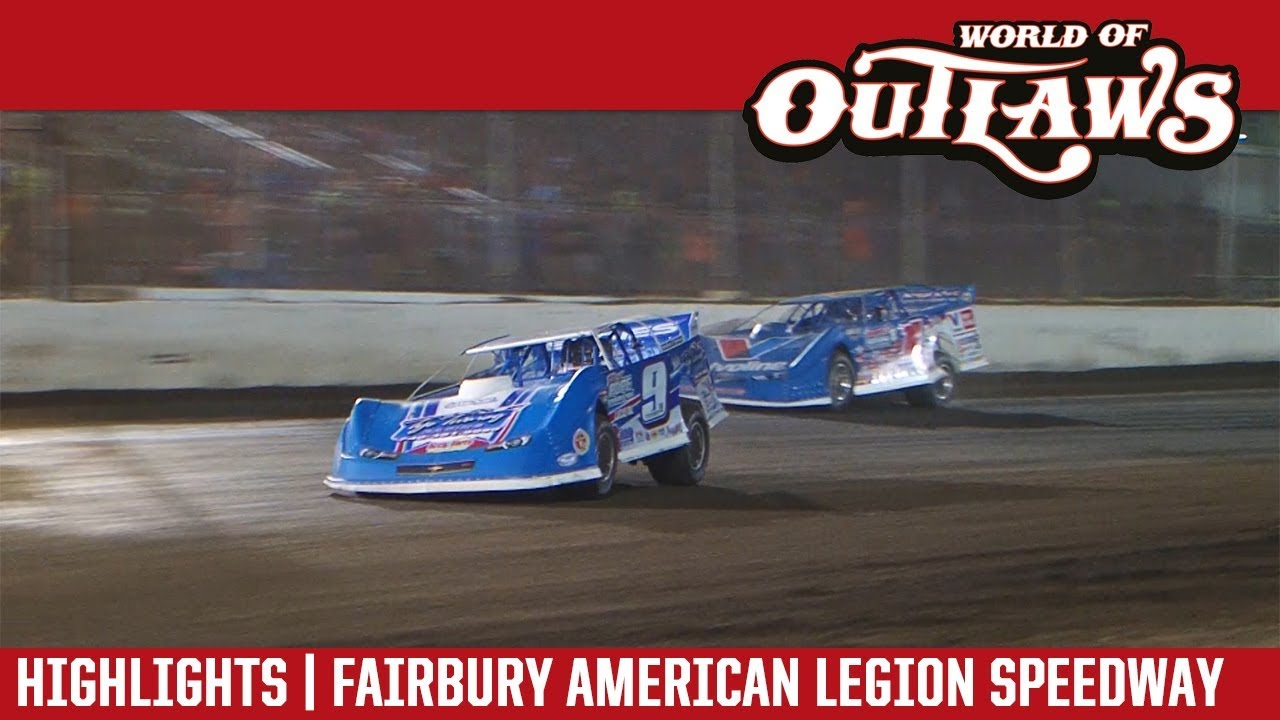world-of-outlaws-craftsman-late-models-fairbury-american-legion-speedway-july-28-2018-highlights