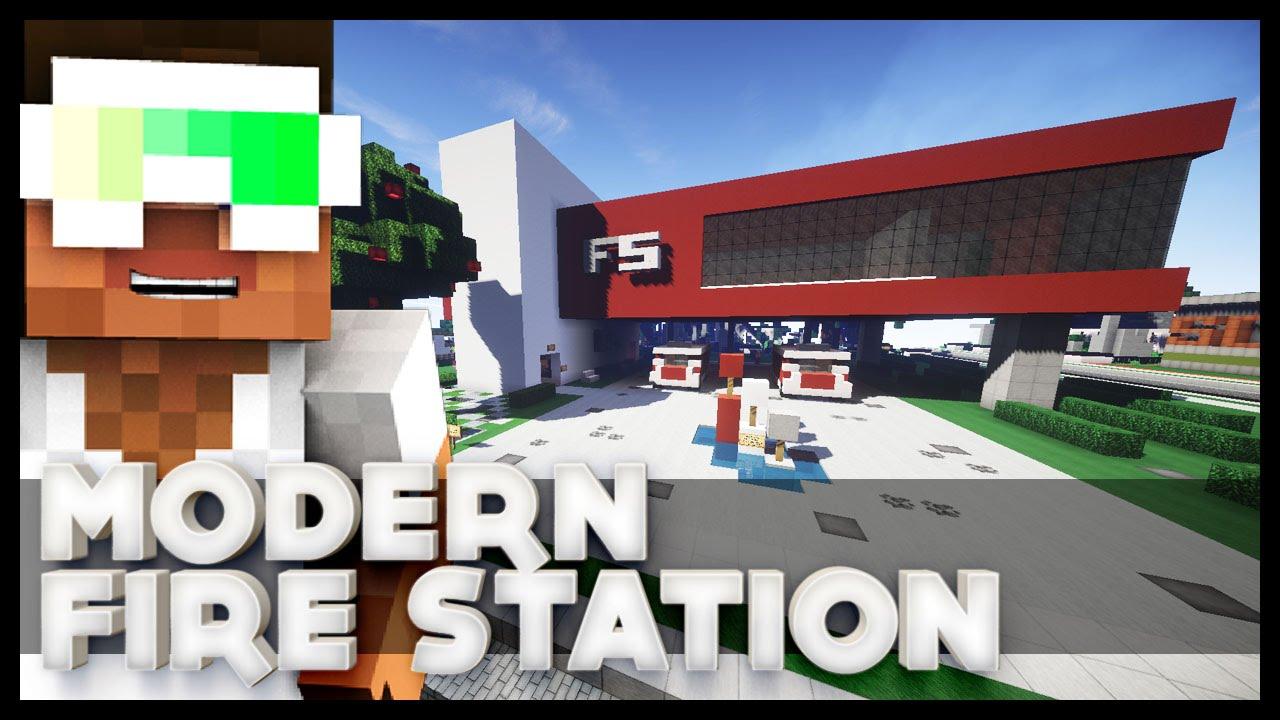 Modern Fire Station Modern House