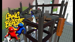 GANG BEASTS ONLINE - Kyle and I Play Online