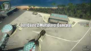 Just Cause 2 Multiplayer Gameplay