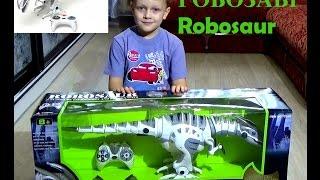 Робот Динозавр Robosaur.