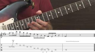 Classic Blues-Rock Guitar Licks...