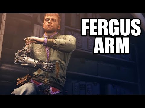 WOLFENSTEIN 2 The New Colossus - Fergus Robot Arm Scene