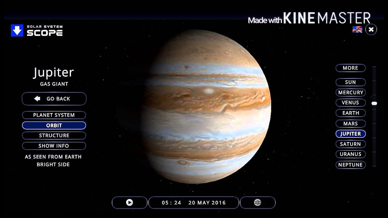 Solar System Scope | Explore the Galaxy - YouTube