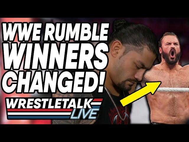 WWE Royal Rumble 2020 PLANS CHANGED! WWE Royal Rumble 2020 Review! | WrestleTalk Live