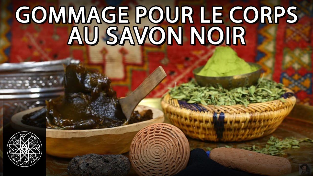 Choumicha gommage pour le corps au savon noir henn et pierre d 39 alun - Le briochin savon noir ...