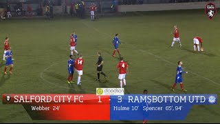 Salford City 1-3 Ramsbottom United - Doodson Sports Cup 2nd Round 02/12/14