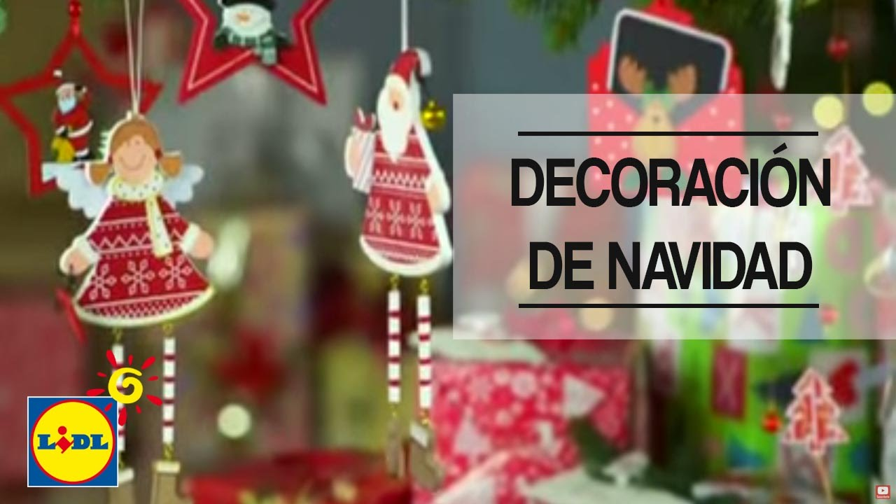 Decoraci n de navidad lidl espa a youtube for Adornos navidenos en 5 minutos