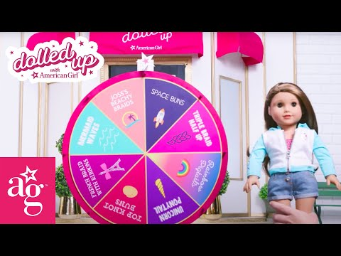 joss-spins-the-mystery-wheel-for-surprise-hairstyle-|-dolled-up-with-american-girl-|-@american-girl