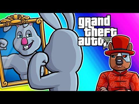 GTA5 Cars VS RPG Funny Moments - Captain Von Sweatsalot