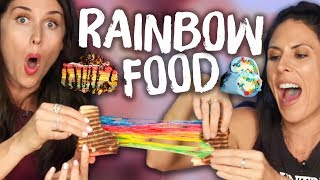 Trying RAINBOW Food From Instagram!