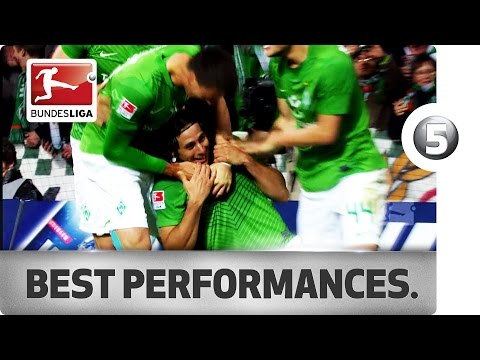 Claudio Pizarro - Top 5 Games Against 1. FC Köln