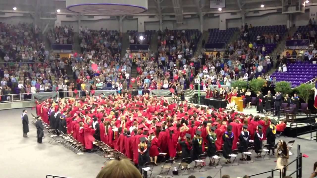 Burleson High School class of 2013 Graduation - YouTube