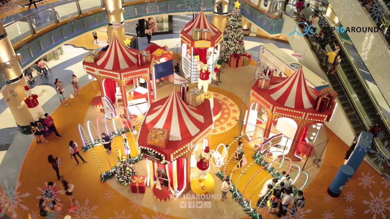 top 10 shopping mall christmas decoration in kl youtube - Mall Christmas Decorations