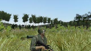 ARMA 3. Мод UNSUNG.Война во Вьетнаме.
