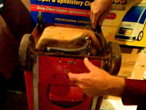 Rug Doctor R 40 Pump Replacement Youtube