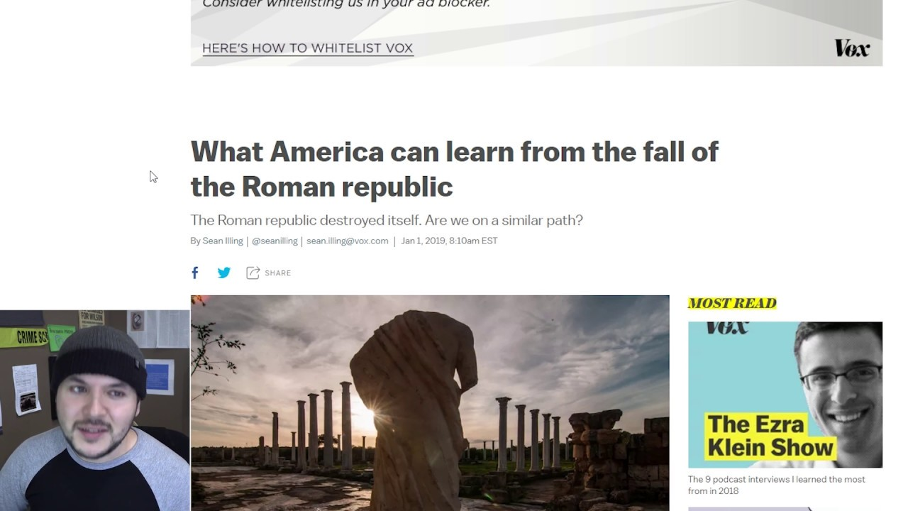 Culture War To Civil War, Are We Following Rome's Footsteps?
