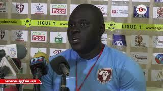 "Djiby Fall, entraîneur GF : "" battre Zamalek est un exploit"""