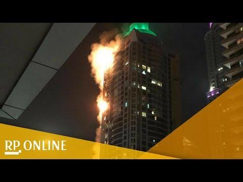 """Dubai: Feuer in Wolkenkratzer """"The Torch"""" ausgebrochen"""