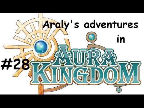Aura Kingdom Gameplay #28 - Level 40 Wizard - Fishing