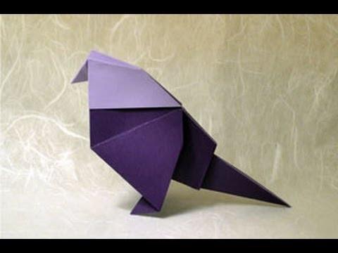 Origami Birds - How to Make a Cute Origami Paper Bird | An Origami ... | 360x480