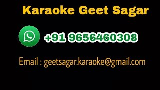 Mere Dil Mein Tu Hi Tu Hai Karaoke With Female Vocals | Bhavna | Jagjit singh , Chitra Singh