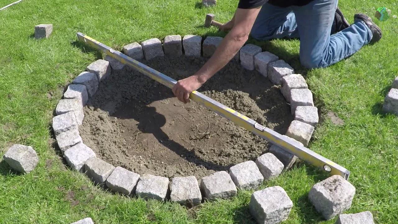 feuerstelle mit sitzgelegenheit granit feuerstelle selber bauen - einfach und schnell diy